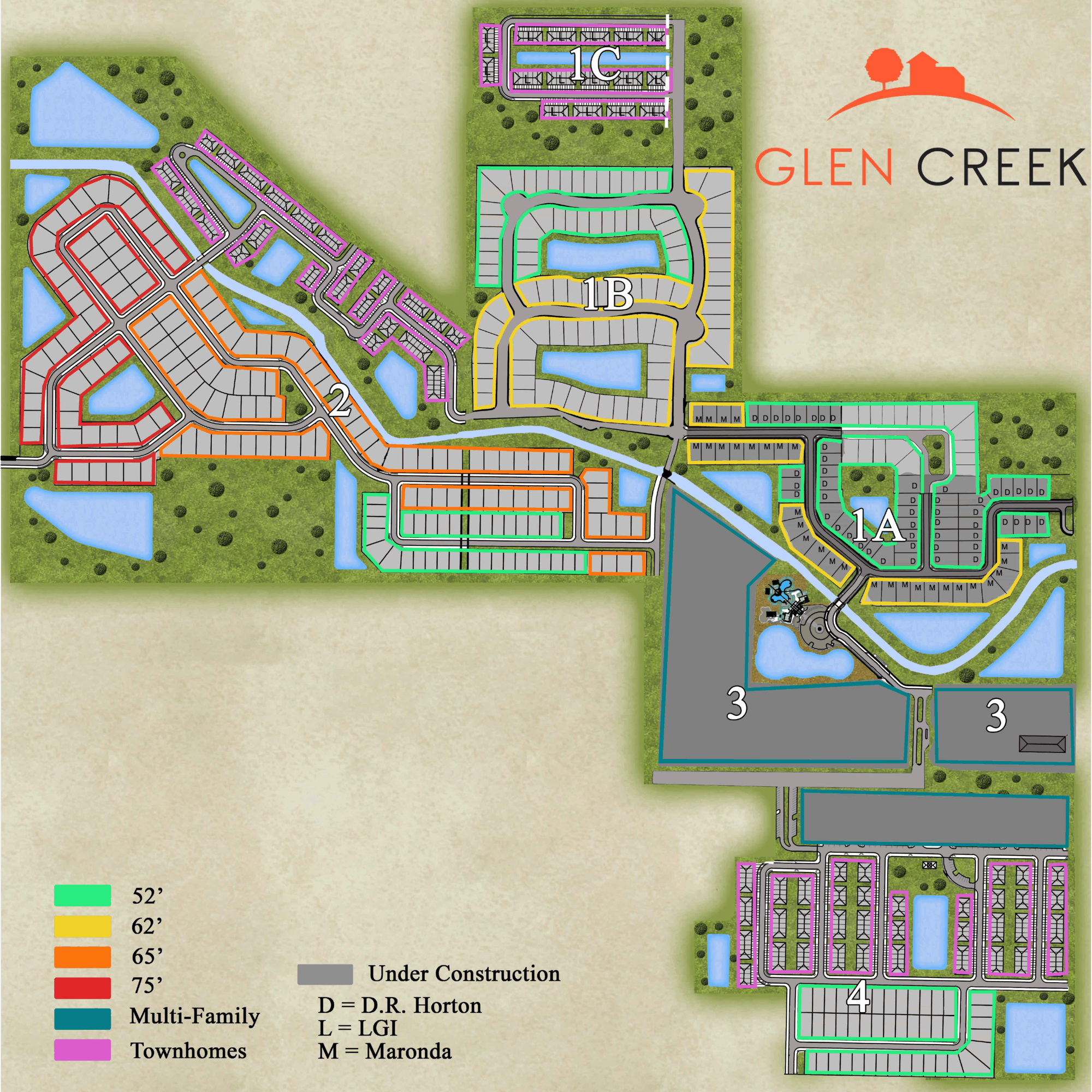 Glen Creek Site Plan